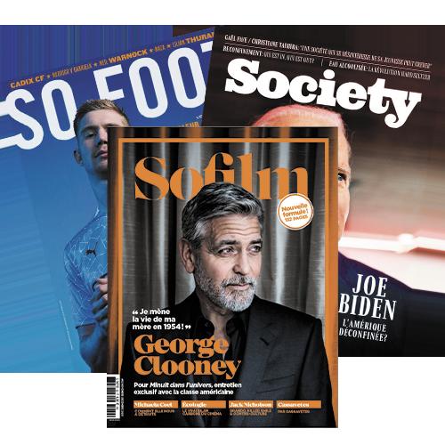 SOFILM + SOFOOT + SOCIETY